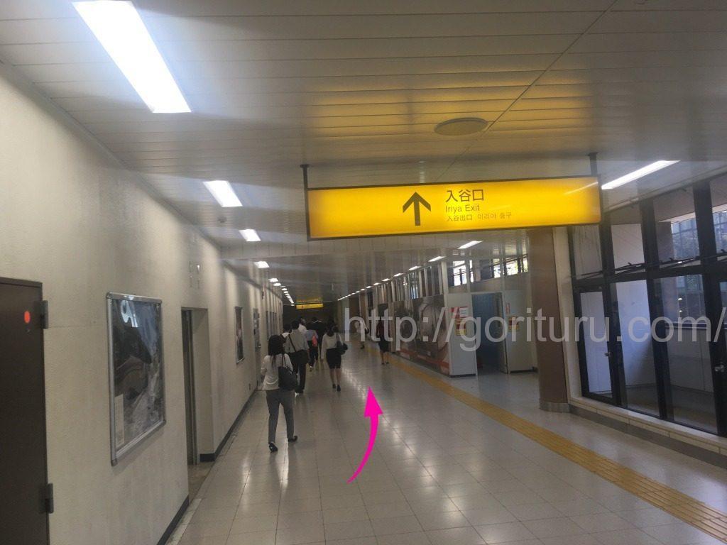ゴリラクリニック上野院までのアクセスに関する口コミ4(駅出口までの道のり)
