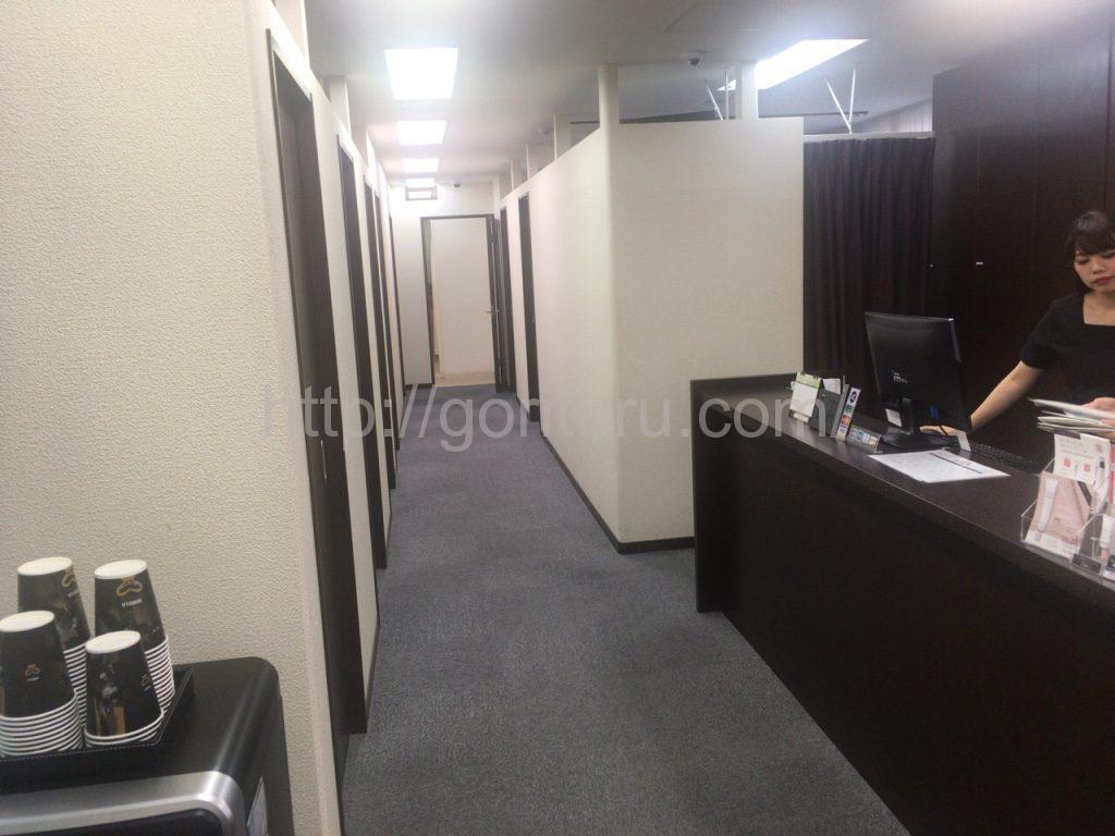 ゴリラクリニック上野院の施術室