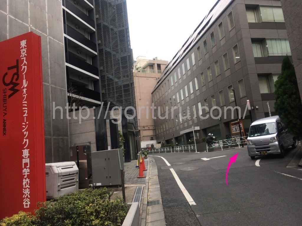 ゴリラクリニック渋谷院までのアクセス10